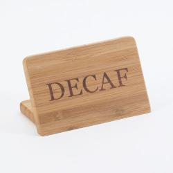 Cal-Mil - 606-2 - Bamboo Decaf Sign image