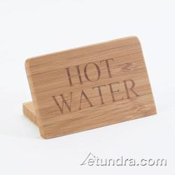 Cal-Mil - 606-3 - Bamboo Hot Water Sign image