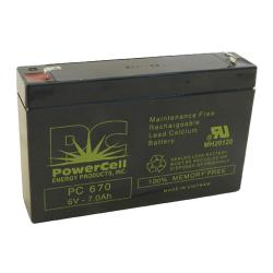 Commercial - 6 Amp/Hr Emergency Exit Light Battery image