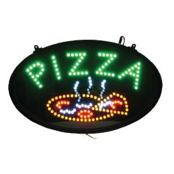 Winco - LED-11 - 22 3/4 in LED Pizza Sign image