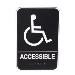 Vollrath - 5632 - 9 in x 6 in Accessible Sign image