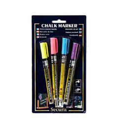 American Metalcraft - BLSMA100V4TR - Mini Tropic Chalk Markers image
