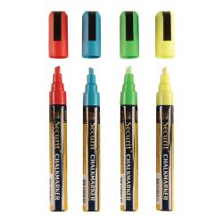 American Metalcraft - SMA510V4 - Small Tip Assorted Chalk Markers image