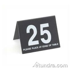 Cal-Mil - 234-1-13 - Black Table Tent Set - 26-50 image