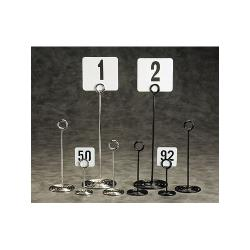 "American Metalcraft - NSC4 - 4"" Swirl Base Chrome Number Stand image"