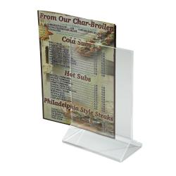 Winco - ATCH-46 - 4 in x 6 in Table Card Holder image