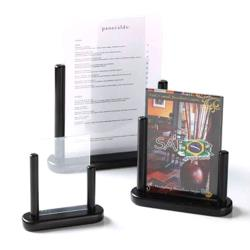 American Metalcraft - ELEBLSM - Securit® 4 in x 6 in Black Table Board image