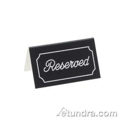 Cal-Mil - 273-10 - Silver Two-Sided Engraved Reserved Message Tent image