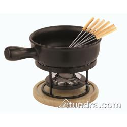 World Cuisine - 41311-00 - 11 Piece Ceramic Cheese Fondue Set image
