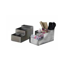 American Metalcraft - BARS5 - Satin Finish Stainless Steel Coffee Caddy image