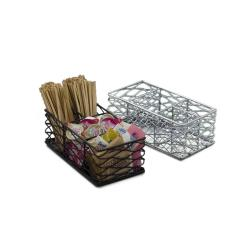 American Metalcraft - BNCC48 - Chrome Wire Birdnest Coffee Caddy image