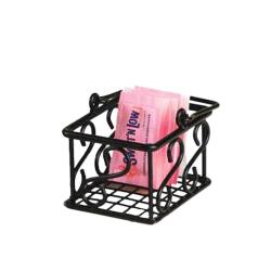American Metalcraft - SBS533 - Ironworks™ Scroll Sugar Packet Basket image