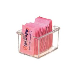 American Metalcraft - SP325 - Clear Plastic Sugar Packet Holder image