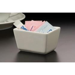 American Metalcraft - SPP326 - White Ceramic Sugar Packet Holder image