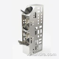 Cal-Mil - 1605-55 - 3-Hole Stainless Steel Cylinder Holder image