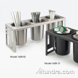 Cal-Mil - 1608-55 - 3-Hole Stainless Steel Cylinder Holder image