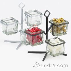 Cal-Mil - 1804-13 - 3-Tier Black 4 in Jar Display image