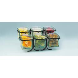 Cal-Mil - 1809 - 2-Tier Black 4 in Jar Display image