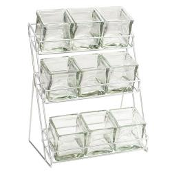 Cal-Mil - 1812-39 - 3-Tier Silver 4 in Jar Display image