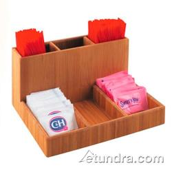 Cal-Mil - 796-60 - 6 Section Bamboo Condiment Organizer image