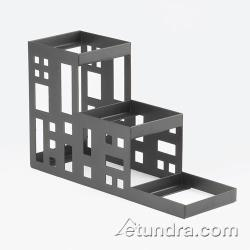 Cal-Mil - C160413 - 3-Tier Black 4 in Jar Display image