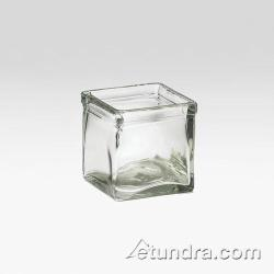 Cal-Mil - C4X4GLCN - 4 in x 4 in Glass Jar image
