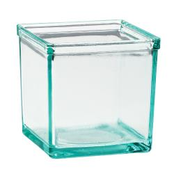 Cal-Mil - C5X5GLASS - 5 in x 5 in Glass Jar image