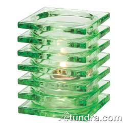 Hollowick - 1501LGR - Lime Green Stacked Block Lamp image