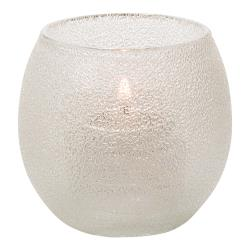 Hollowick - 5119CI - Clear Ice Bubble Tealight Lamp image