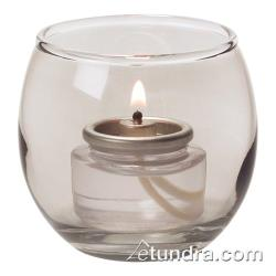 Hollowick - 5119S - Smoke Lustre Bubble Tealight Lamp image