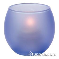Hollowick - 5119SDB - Satin Dark Blue Bubble Tealight Lamp image