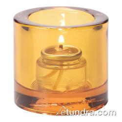 Hollowick - 5140A - Amber Round Tealight Lamp image