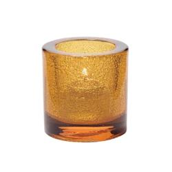 Hollowick - 5140AJ - Amber Jewel Round Tealight Lamp image