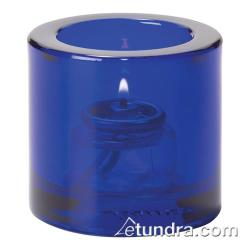 Hollowick - 5140CBL - Cobalt Blue Round Tealight Lamp image