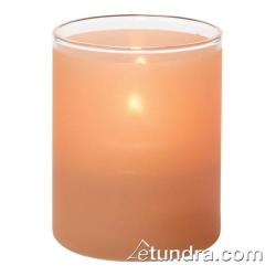Hollowick - 5176STC - Satin Terra Cotta Cylinder Tealight Lamp image