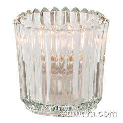 Hollowick - 5228C - Clear Ribbed Tealight Lamp image