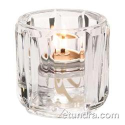 Hollowick - 5690C - Crystal Round Tealight Lamp image