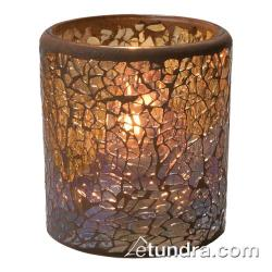 Hollowick - 6301G - Crackle Gold Votive Lamp image