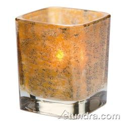 Hollowick - 6505AG - Tetra Antique Gold Votive Lamp image