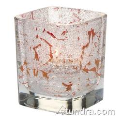 Hollowick - 6588IR - Tetra Splash Red Votive Lamp image