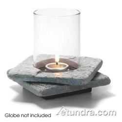 Hollowick - ZEN-GSL2 - Zen Double Grey Slate Base image