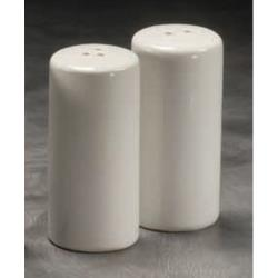 American Metalcraft - CSPR1 - 3 1/4 in Round Ceramic Salt & Pepper Set image