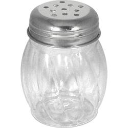 ITI - ISP-I-E - 6 oz Stainless Steel Cheese Shaker with Perforated Top image