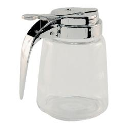 Tablecraft - 1370 - 8 oz Glass Syrup Dispenser image