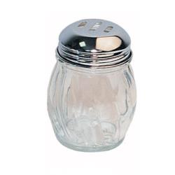 Winco - G-108 - 6 Oz Glass Cheese Shaker w/Slotted Top image