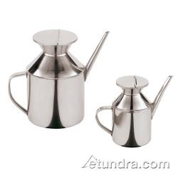 World Cuisine - 49631-11 - 1 3/4 qt Stainless Steel Soy Sauce Dispenser image