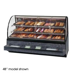 "Federal - SN-59-SS - Series '90 59"" Non-Refrigerated Self-Serve Bakery Case image"
