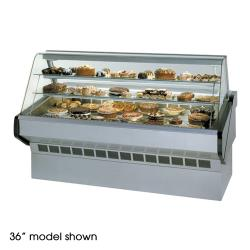 "Federal - SQ-6B - Market Series 72"" Non-Refrigerated Bakery Case image"