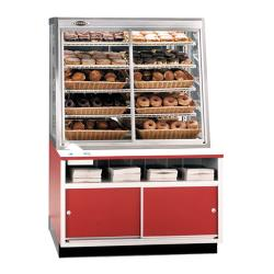 "Federal - WDC-42 - 42"" x 62"" Non-Refrigerated Self-Serve Wall Display Case image"