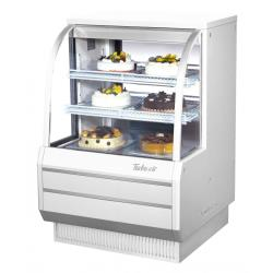 Turbo Air - TCGB-36DR-W-N - 36 in White Non-Refrigerated Bakery Case image